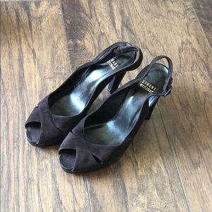 Stuart Weitzman brown high heels 7.5